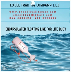 ENCAPSULATED FLOATING LINE FOR LIFE BUOY