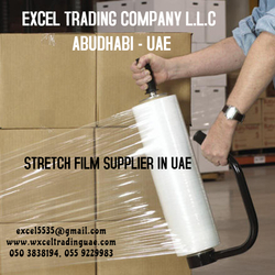 STRETCH FILM SUPPLIER IN ABUDHBAI