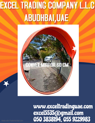 CONVEX MIRROR 60CM INDOOR AND OUTDOOR  SUPPLIER IN DUBAI