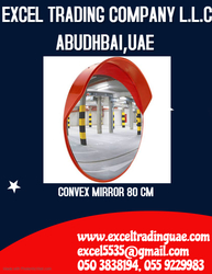 CONVEX MIRROR 80CM  SUPPLIER IN ABUDHABI