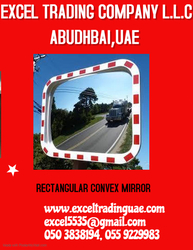 RECTANGULAR CONVEX MIRROR SUPPLIER IN UAE