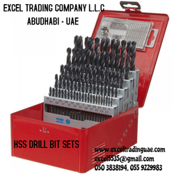 HSS DRILL BIT SETS IN DUBAI