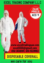 DISPOSABLE COVERALL DUBAI