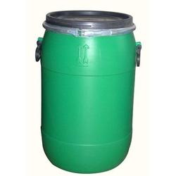 GREEN OPEN TOP PLASTIC DRUM
