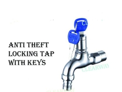 ANTI THEFT LOCKING TAP WITH KEYS DEALER IN MUSSAFAH , ABUDHABI , UAE BY EXCEL TRADING