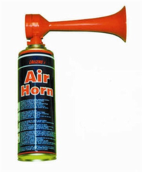 PORTABLE AIR HORN from GULF SAFETY EQUIPS TRADING LLC