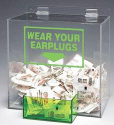 EAR PLUG DISPENSER from GULF SAFETY EQUIPS TRADING LLC