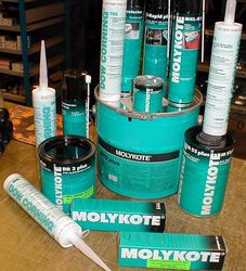 molykote  from GULF SAFETY EQUIPS TRADING LLC