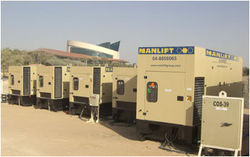 Generators Hiring from MANLIFT GROUP
