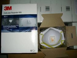 3M 8511 PARTICULATE RESPIRATOR N95 MASK from GULF SAFETY EQUIPS TRADING LLC