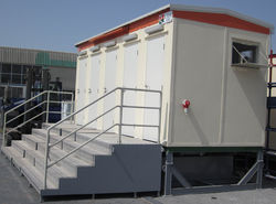 Party toilet facility in UAE from RTS CONSTRUCTION EQUIPMENT RENTAL L.L.C