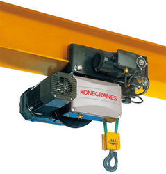Electric Belt Hoists from KONECRANES MIDDLE EAST FZE