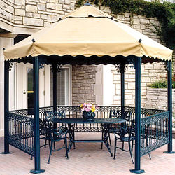 Gazebos, Pergolas & Swings from LINK MIDDLE EAST LTD