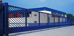 Steel Swing Sliding K9, RC4 Gates Fabricators, Suppliers, Contractors in UAE Dubai Abu Dhabi Iran Oman Qatar Iraq from CHAMPIONS ENERGY, FENCE FENCING SUPPLIERS UAE, WWW.CHAMPIONS123.COM