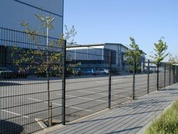 Barricades, Barriers, Road Dividers, Anti-Climb Panels, Partiions, Pickets, Solar Stands Brackets Posts Attachments Frames, Suppliers, Exporters, Dealers, Company, Fabricators, Contractors in Dubai, UAE, Abu Dhabi, RAK, Oman, Africa from CHAMPIONS ENERGY, FENCE FENCING SUPPLIERS UAE, WWW.CHAMPIONS123.COM