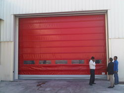 RAPID /FAST ACTION/ HIGH SPEED FOLDUP DOOR  IN UAE from DESERT ROOFING & FLOORING CO L L C (DOORS DIVISION)
