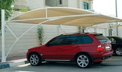 Car Park Shades from BAIT AL NOKHADA TENTS & FABRIC SHADE LLC