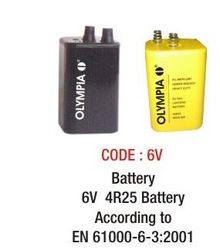 BATTERY 6 VOLT  from SAFELAND TRADING L.L.C