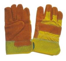 LEATHER GLOVES YELLOW COLOR  from SAFELAND TRADING L.L.C
