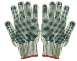 COTTON GLOVES WITH TWO SIDE DOTTED  from SAFELAND TRADING L.L.C
