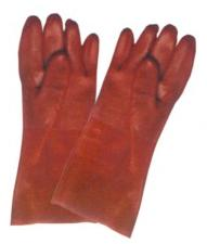 CHEMICAL GLOVES RED COLOR  from SAFELAND TRADING L.L.C
