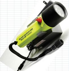 PELICAN LED RECHARGABLE TORCH 2460 from GULF SAFETY EQUIPS TRADING LLC