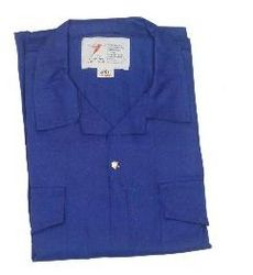 COVERALL COTTON PETROL BLUE COLOR  from SAFELAND TRADING L.L.C