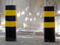 Steeel Bollards BOLARD SAFETY, PARKING Suppliers, Contractors, Exporters, Company in UAE Dubai Abu Dhabi, Oman, Qatar, Africa from CHAMPIONS ENERGY, FENCE FENCING SUPPLIERS UAE, WWW.CHAMPIONS123.COM