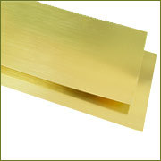 Brass Sheet from REGAL SALES CORPORATION