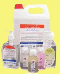 Hand Gel Sanitizer from AL MAS CLEANING MAT. TR. L.L.C