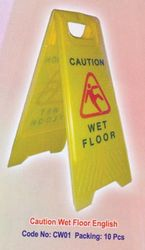 Caution Board from AL MAS CLEANING MAT. TR. L.L.C