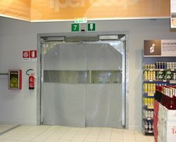 FLEXIBLE SWING DOORS SUPPLIERS IN UAE from DESERT ROOFING & FLOORING CO L L C (DOORS DIVISION)