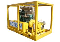 Water Jetting Pumps from ACTION INTERNATIONAL SERVICES