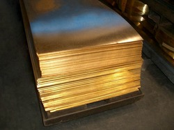 Brass Sheet from JAYVEER STEEL