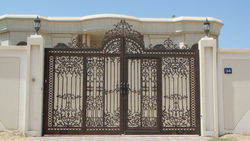 Cast Aluminium Gates from WOW INTERNATIONAL FZC