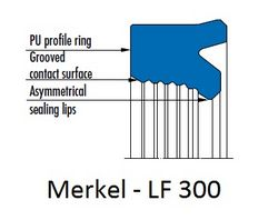 Merkel U-Ring   LF 300 from SPECTRUM HYDRAULICS TRADING FZC