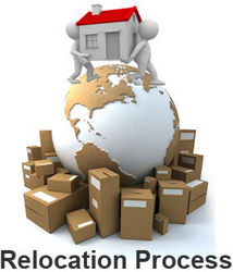 RELOCATION SERVICES from EXECUTIVE CARGO PACKAGING LLC