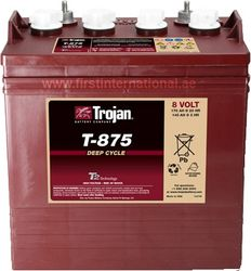 Trojan Battery Supplier from FIRST INTERNATIONAL SPECIALIZED VEHICLES TRADING
