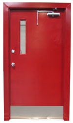 HOLLOW METAL DOORS & FRAMES - FIRE RATED  from DESERT ROOFING & FLOORING CO L L C (DOORS DIVISION)