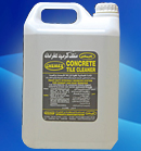 CONCRETE TILE CLEANER from CHEMEX CHEMICAL AND HYGIENE PRODUCTS L.L.C