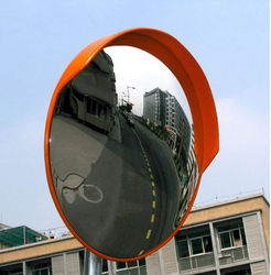 CONVEX MIRROR WITH MOUNTING BRACKET from GULF SAFETY EQUIPS TRADING LLC