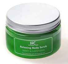 RELAXING BODY SCRUB With Mint & Lavender Oil from NATURAL CARE