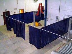 welding curtains from GULF SAFETY EQUIPS TRADING LLC