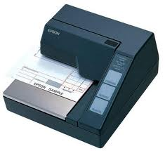 Cheque and Receipt Printers Epson TM-U295 from SIS TECH GENERAL TRADING LLC