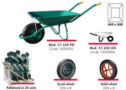 WHEEL BARROW from GULF SAFETY EQUIPS TRADING LLC
