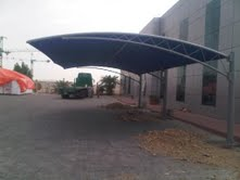 Shade Structure from AL SHERA DOORS & SHADES