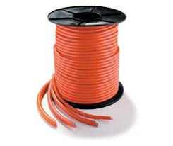 Welding Cable - Double Insulated Orange from SIS TECH GENERAL TRADING LLC