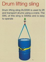 DRUM LIFTING SLING ALLSAFE BRAND  from SAFELAND TRADING L.L.C