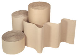 Corrugated paper roll from GULF SAFETY EQUIPS TRADING LLC