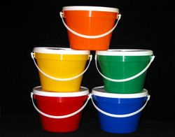 PVC Bucket from GULF SAFETY EQUIPS TRADING LLC
